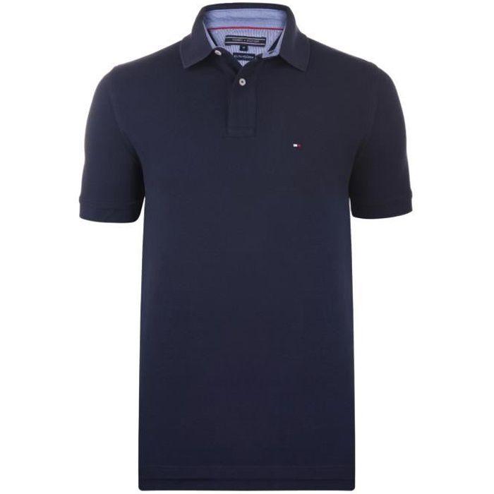 Tommy Hilfiger Men/'s Classic Fit TH Flex Cotton Logo Polo Shirt