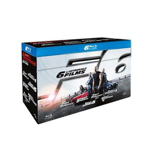 BLU-RAY FILM Blu-Ray Fast and furious 1 a 6