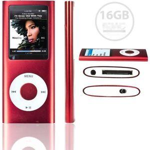 LECTEUR MP3  ANTCOOL(R) Lecteur MP3 MP4 Player 16Go Vidéo Radi