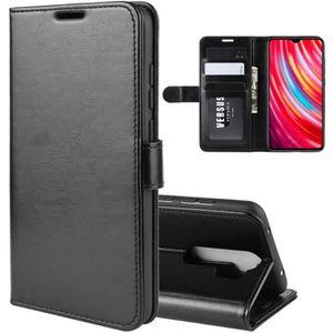 HOUSSE - ÉTUI Pour Xiaomi Redmi Note 8 Pro Housse, PU Cuir Porte