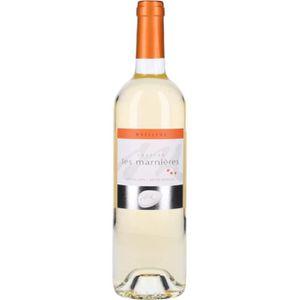 VIN BLANC Vin Blanc - Les Marnières Moelleux 2016 - Bouteill