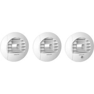 VMC - ACCESSOIRES VMC Kit VMC 3 bouches à griffes - T3 au T7 (HygroB) /