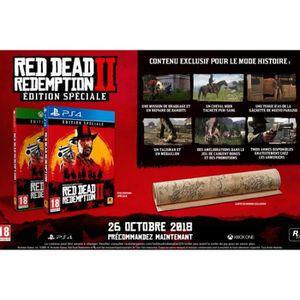 JEU CONSOLE RÉTRO Red Dead Redemption 2 Special Edition