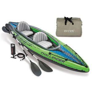 BATEAU PNEUMATIQUE Intex Kayak gonflable Challenger K2 351 x 76 x 38