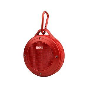 ENCEINTE NOMADE MIFA F10 Rouge - Enceinte Bluetooth 4.0 Waterproof
