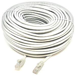 CÂBLE RÉSEAU  Mr. Tronic 30 Mètres Câble de Réseau Ethernet 30m