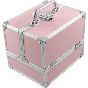 TROLLEY MATERIEL DynaSun BS35 Pink Rose Elégance Coffret Mallette A