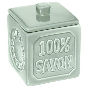 DISTRIBUTEUR DE SAVON Five - Pot à coton 100% savon Aqua