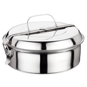 LUNCH BOX - BENTO  Boîtes à repas en acier inoxidable et ses 2 assiet
