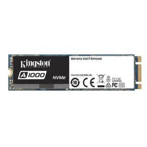 DISQUE DUR SSD KINGSTON - Disque SSD Interne - A1000 - 480Go - M.