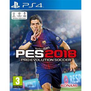JEU PS4 PES 18 PS4 + 2 boutons THUMBSTICK OFFERT
