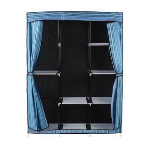 ARMOIRE DE CHAMBRE Armoire de chambre DIY style contemporain en tissu