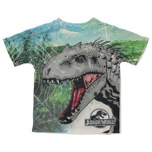 Effrayant Jurassique indominus Rex Dinosaure Enfants Garçons//Filles T-Shirt