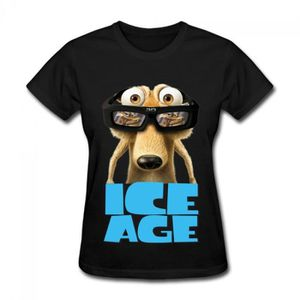 T-SHIRT Ice Age Collision Course 2016 Sid Logo T-shirt Cot