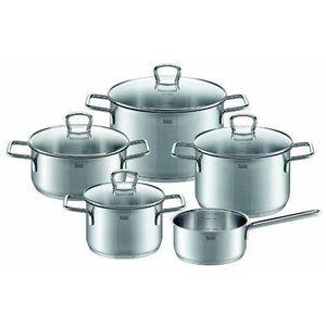 BATTERIE DE CUISINE Silit 0021644411 Batterie de cuisine 5 pièces Opal