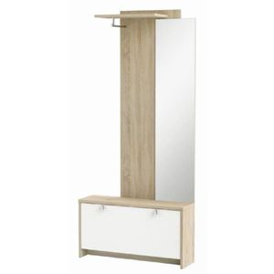 meuble dentre ugo3 vestiaire contemporain dcor chne bross et