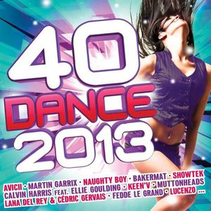 CD TECHNO - ELECTRO 40 dance 2013 by Compilation