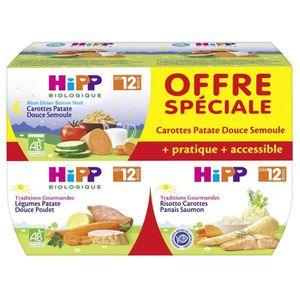 PLATS CUISINÉS HIPP BIOLOGIQUE Traditions gourmandes2x carotte pa