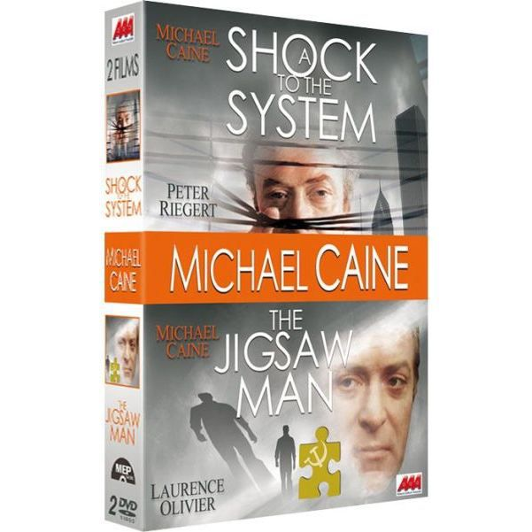 Mep Video Coffret Michael Caine : A Shock to the System The Jigsaw Man
