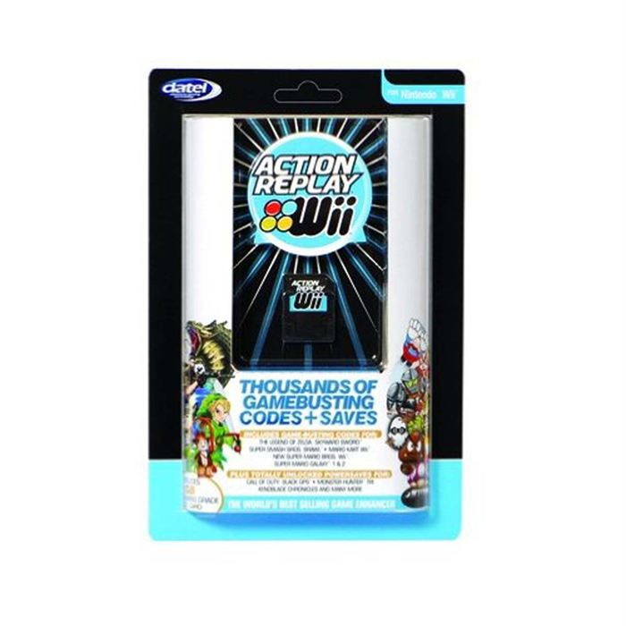 ACTION REPLAY POUR WII