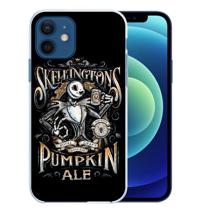 Coque pour iPhone 12 - Mr Jack Skellington Pumpkin. Accessoire telephone