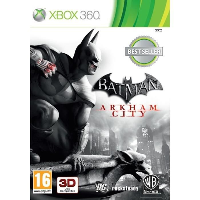 Batman Arkham City Jeu Xbox 360