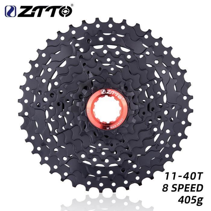 Pièce Détachée,ZTTO vtt 8 vitesses 11 40T Cassette VTT pièces de vélo 8 s 40t roue libre 8 s pignon 8v noir - Type 8s 40T Black