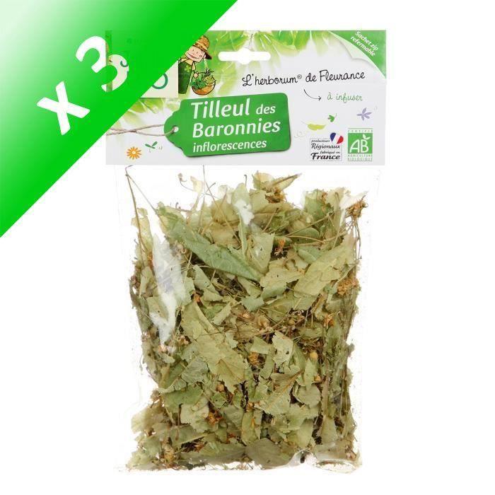[LOT DE 3] JARDIN BIO Tilleul inflorescences bio - 25 g