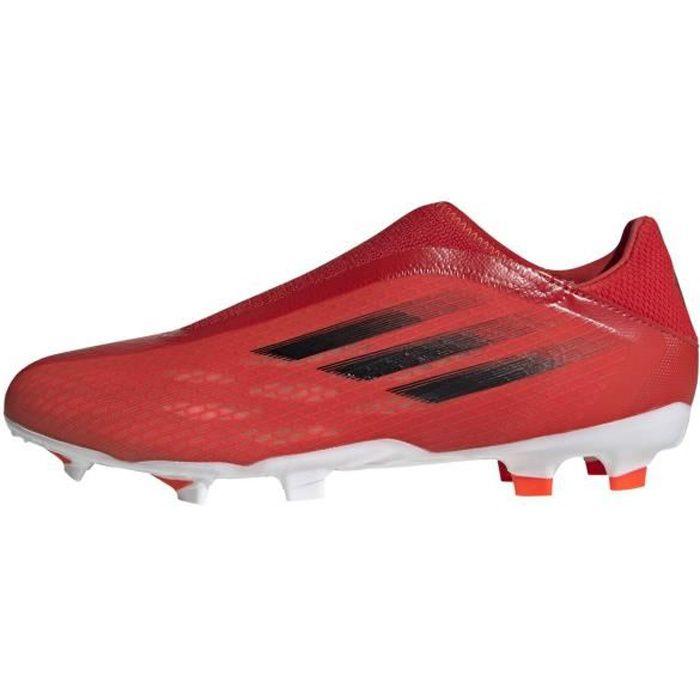 Chaussures Adidas X Speedflow.3 Ll Fg rouge / noir homme