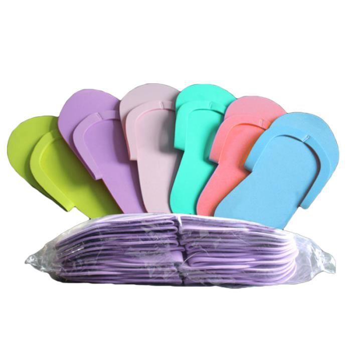 36 paires de pantoufles jetables en mousse de haute qualité de pédicure en pour salon spa SPA COMPLET - KIT SPA - JACUZZI