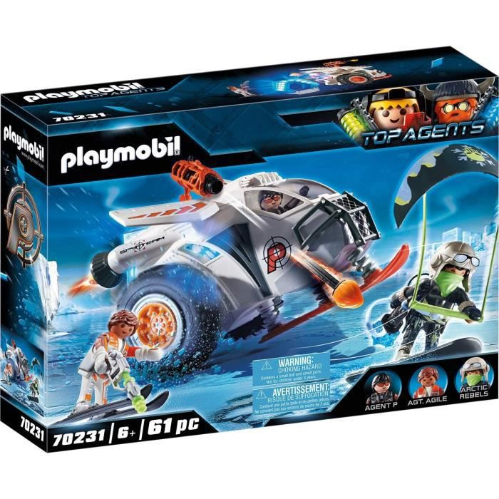 PLAYMOBIL Top Agents 70231