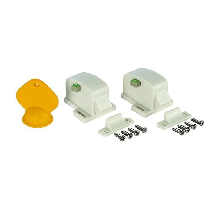 Safety 1st Serrure de placard magnétique 2 pcs 3202001600