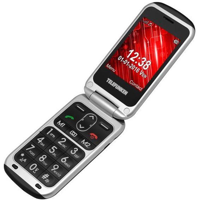 TELEFUNKEN TM240 COSI : Téléphone senior grosses touches Débloqué 2G