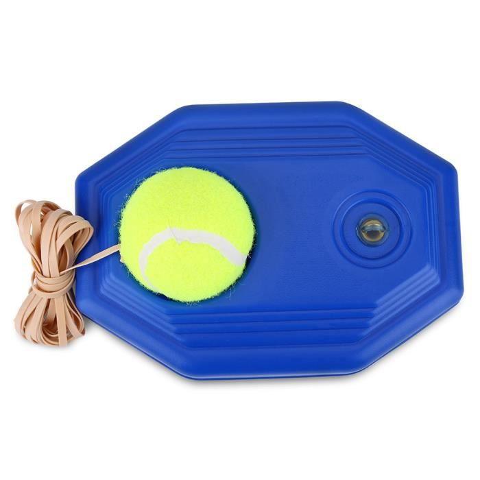 VGEBY® Ensemble de base d'entraînement de balle de tennis avec corde élastique en caoutchouc pour la pratique d'une seule personne