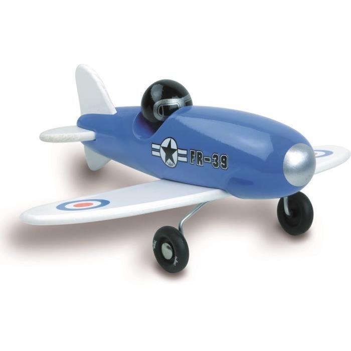 Avion VOLTIGE Bleu - Vilac - Bleu