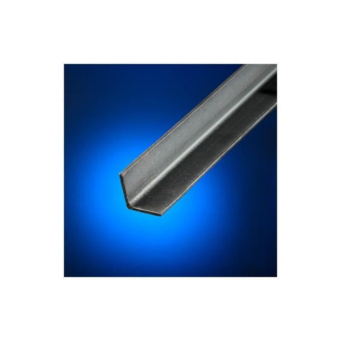 2 Barres cornière acier 30x30 épaisseur 3mm longueur 2m