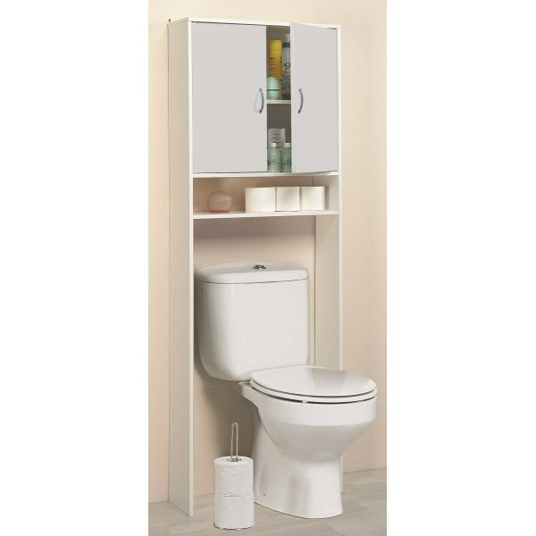 meubles rangement wc toilette. Black Bedroom Furniture Sets. Home Design Ideas