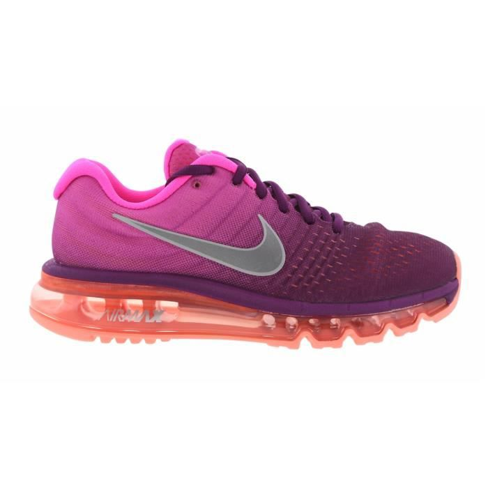 Baskets Nike Air Max 2017 Femme, Chaussures de Running Rose