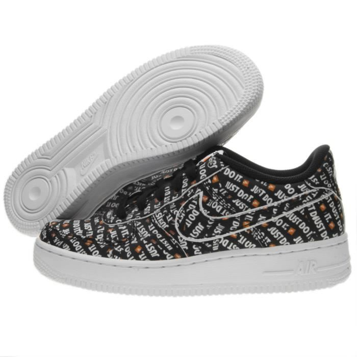 sale retailer ac1d2 72e1a Basket Nike Air Force 1 Just Do It Premium (Gs) AO3977-001