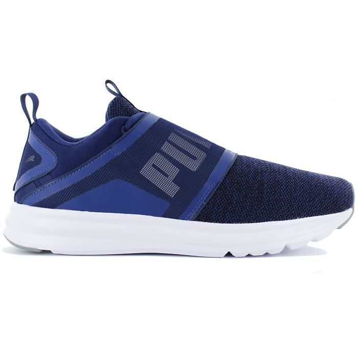 Puma Enzo Strap Knit 190029 03 Chaussures Homme Sneaker