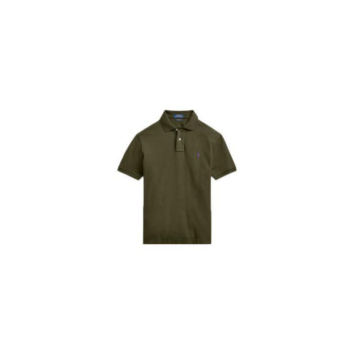 Polo Ralph Lauren Vert Kaki Logo Violet Pour Homme Couleur Vert Taille L Vert Cdiscount Prêt à Porter