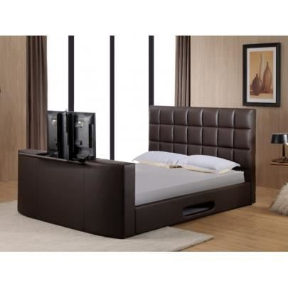 lit profusion avec syst me tv int gr 160x200 achat vente ensemble literie cdiscount. Black Bedroom Furniture Sets. Home Design Ideas
