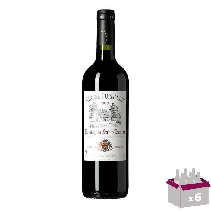 Roc de Puisseguin 2018 Puisseguin Saint Emilion - Vin rouge de Bordeaux