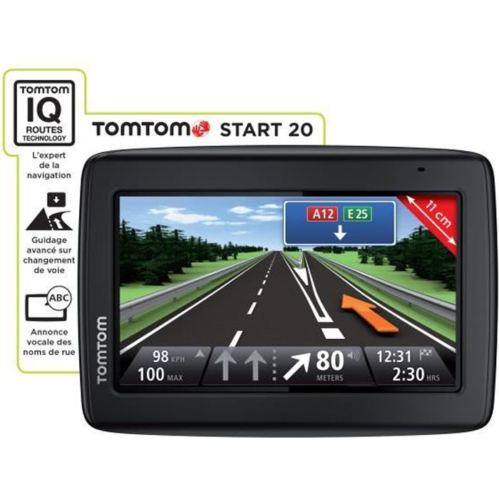 TomTom Start 20 Occasion, 4,3 pouces Cartographie Europe 49 pays