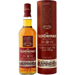 WHISKY BOURBON SCOTCH Glendronach 12 ans (70cl) 43°
