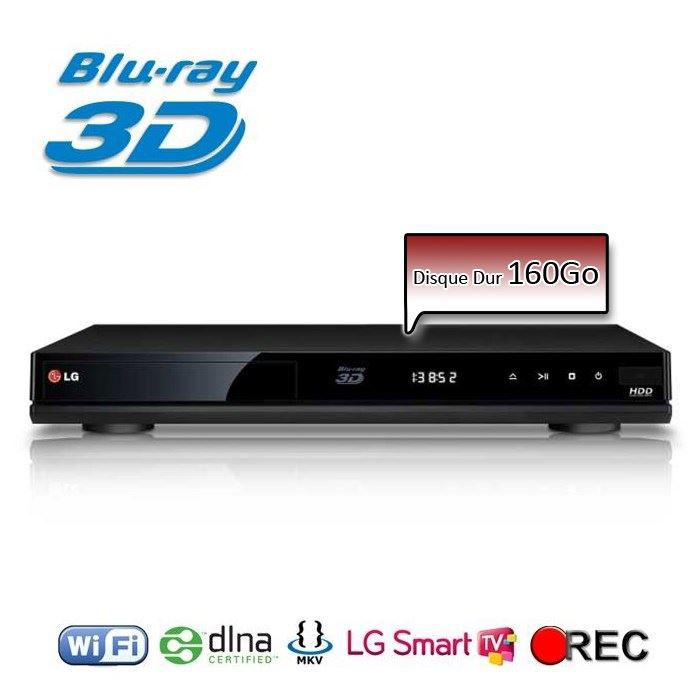 lg hr931d lecteur blu ray 3d enregistreur tnt hd achat vente lecteur blu ray lg hr931d. Black Bedroom Furniture Sets. Home Design Ideas
