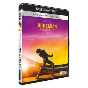 BLU-RAY FILM Bohemian Rhapsody Bluray 4K