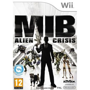 JEUX WII MEN IN BLACK ALIEN CRISIS / Jeu console Wii