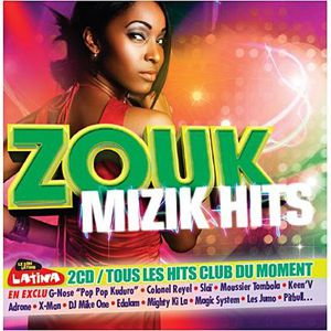 CD COMPILATION ZOUK MIZIK HITS - Compilation