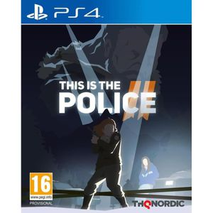 JEU PS4 This is the Police 2 Jeu PS4